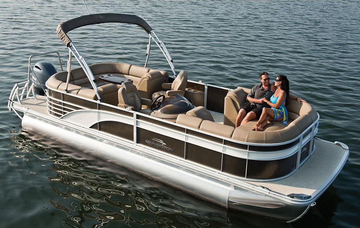2018 Bennington 24spdx Pontoon Owasco Marine